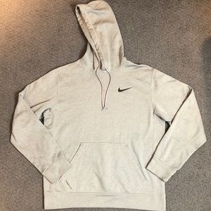 Nike Shirts - Nike Men's Therma Fit Gray Sweatshirt Hoodie M